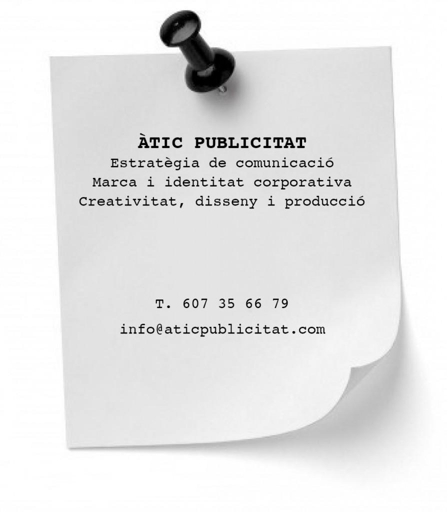 Àtic-Publicitat-Contacte